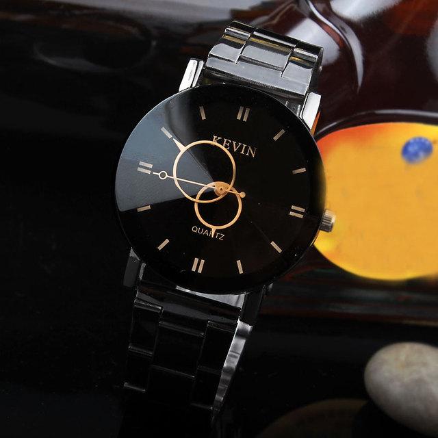 Zegarek damski KEVIN czarny elegancki