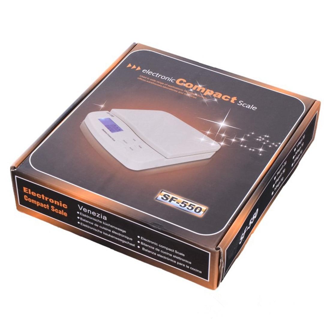25 kg/1g alimentaire régime échelle numérique LCD rétro-éclairage électronique alimentaire régime cuisine poids Balance haute précision bijoux offre spéciale - 6