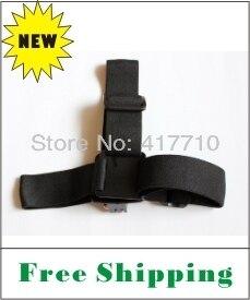 New Product FREE SHIPPING Gopro hero hero2 hero3 Black Elastic Adjustable Vented Helmet Strap Mount for HD hero hero2 hero3