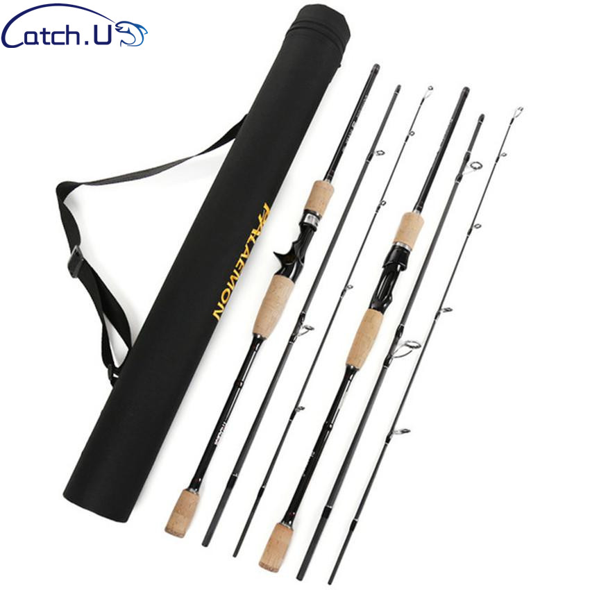Catch.U Casting Spinning Fishing Rod,Hard Carbon Fishing Rods Telescopic Spinning Hard Sea Fishing Rod стоимость