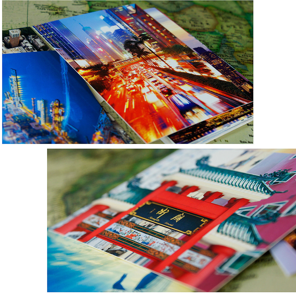 30pcs city Hong Kong view style card multi-use as Scrapbooking party invitation DIY Decoration gift card message card postcard