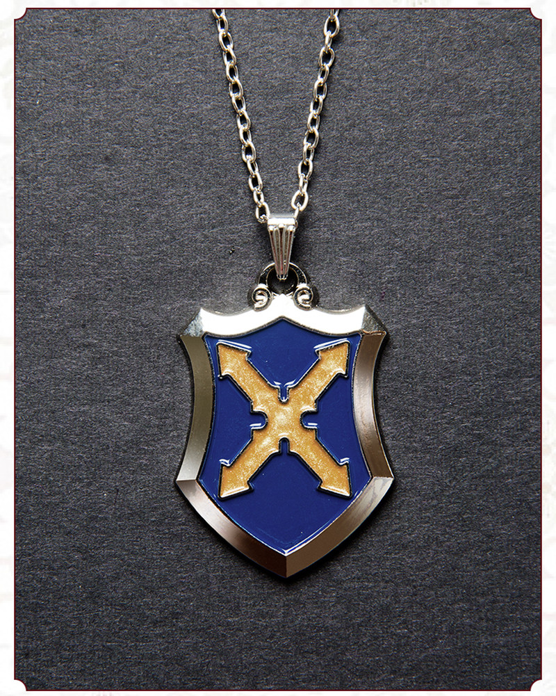 Hot Game Fate/Apocrypha Mordred Cosplay Accessories Necklace Badge Mordred Pendant Anime Cosplay Prop