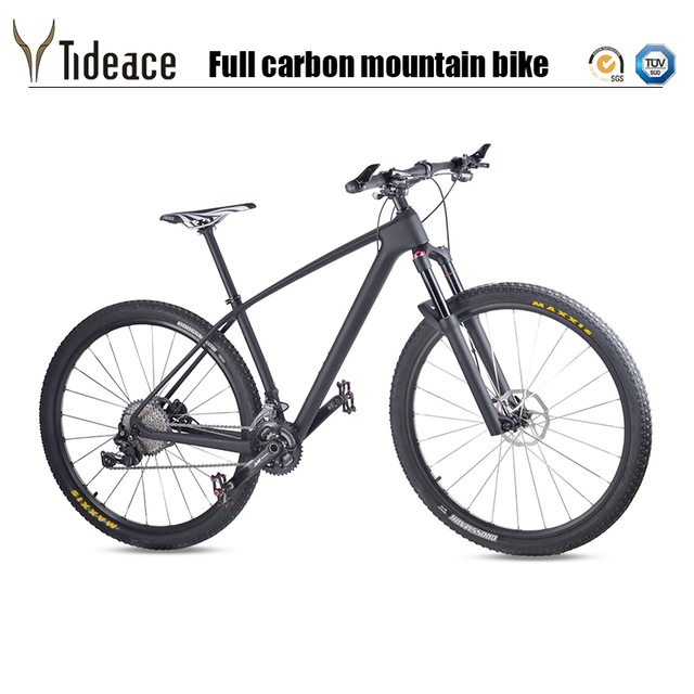 2018 Carbon Fiber MTB Mountain Bike 29er light 33s 30s 11s Speed 29″ Complete mtb Bicycle XT M8000 29er full Mountain Bike