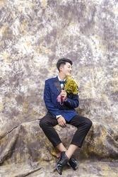 Promotional 10X20ft Tye-Die Muslin fantasy backdrop portrait photography customize background backdrop wedding