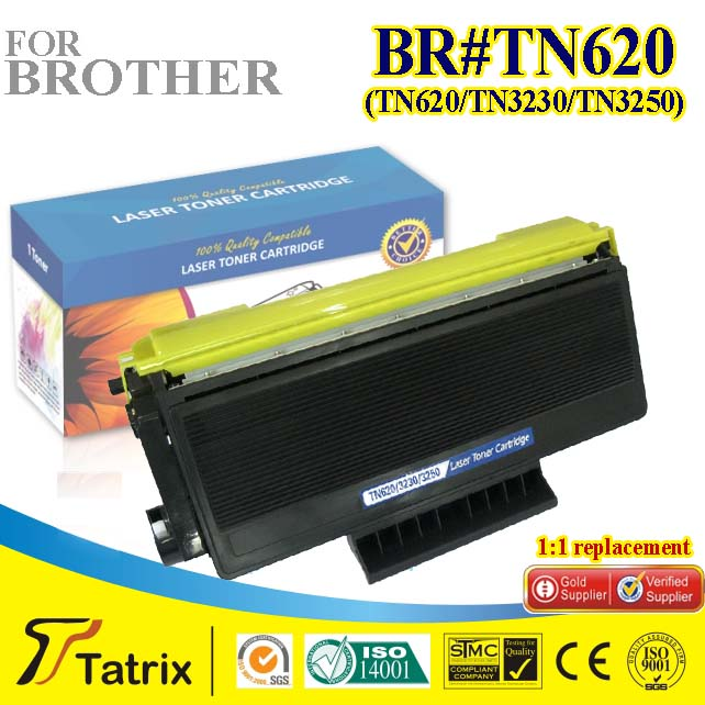 ФОТО Compatible TN620 Toner for brother TN620 Toner Cartridge ,Used In for brother HL Cartridges With ISO,STMC,SGS,CE