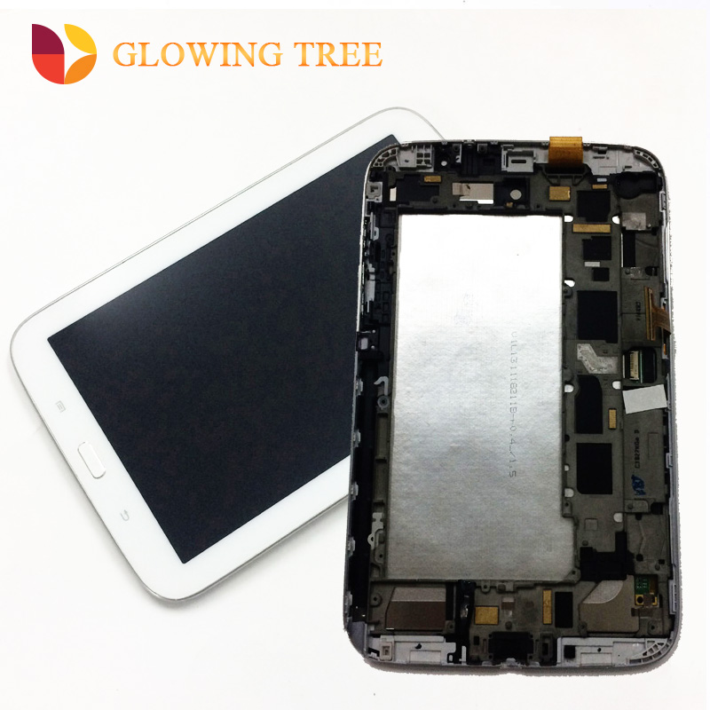 2 Color For Samsung Galaxy Note 8.0 N5100 GT-N5100 Touch Screen Digitizer Sensor + LCD Display Panel Monitor Assembly with Frame new n5100 n5110 lcd for samsung galaxy note 8 gt n5100 n5110 lcd display digitizer screen touch panel sensor assembly tool