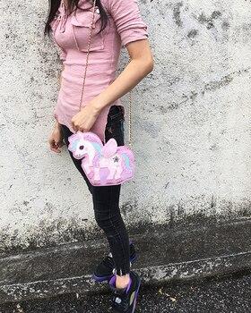 Unicorn Sequin Purse Shoulder Bag
