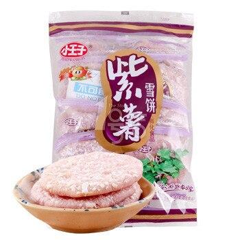 Chinese food,Snow Cake, 84grams 1 bag, purple potato, Snack, Food chinese food 520grams 1 bag food snack rice cake