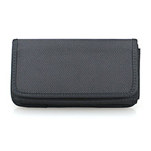 Horizontal Nylon Belt Case Holster Pouch with Belt Loop for Samsung Galaxy Note8 /S8 Plus /S9 Plus(Fits with a TPU/Thin Case On)
