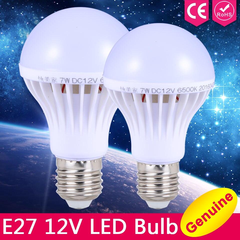 e27 led bulb lights 3w 5w 7w dc 12v led lamp e27 9w 12w 15w energy saving lampada 12 volts led light bulbs for outdoor lighting