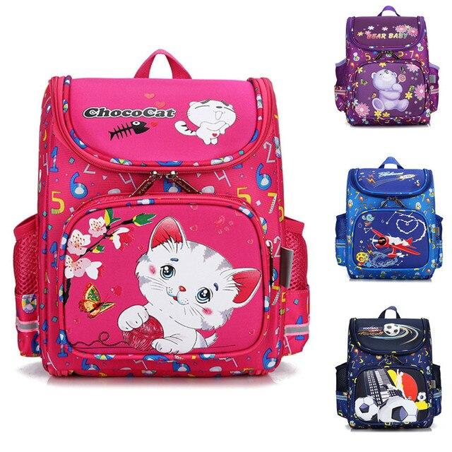 Fashion EVA Schoolbags boys girls cartoon cat Backpack Waterproof Kids  School Bag Kindergarten Children Primary School Backpack 899a5a6c5946a