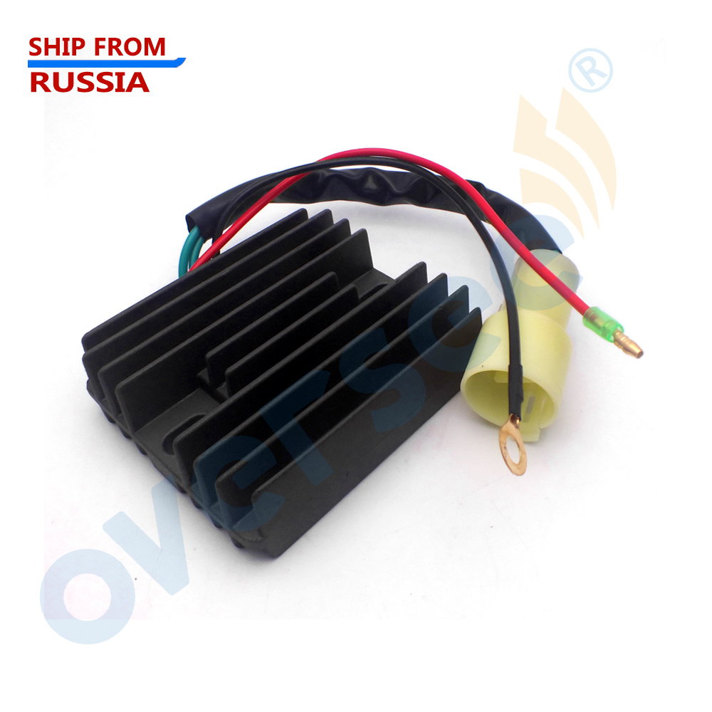 67F 81960 12 RECTIFIER & REGULATOR 5 Wires For Yamaha Outboard Motors 67F 81960 00-in Boat Engine from Automobiles & Motorcycles    2