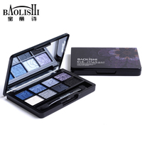 Baolishi 1pcs Hot Sell 8 Color Naked Best Matte Eyeshadow Palette Urban Professional Natural Brand Makeup