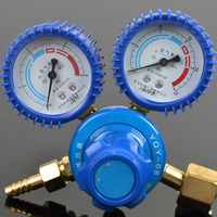 NEW Oxygen Pressure Regulator 0 25MPa Oxygen Meter Reducer Reducing Valve Pressure Gauge Dual Brass Welding Cutting Tools