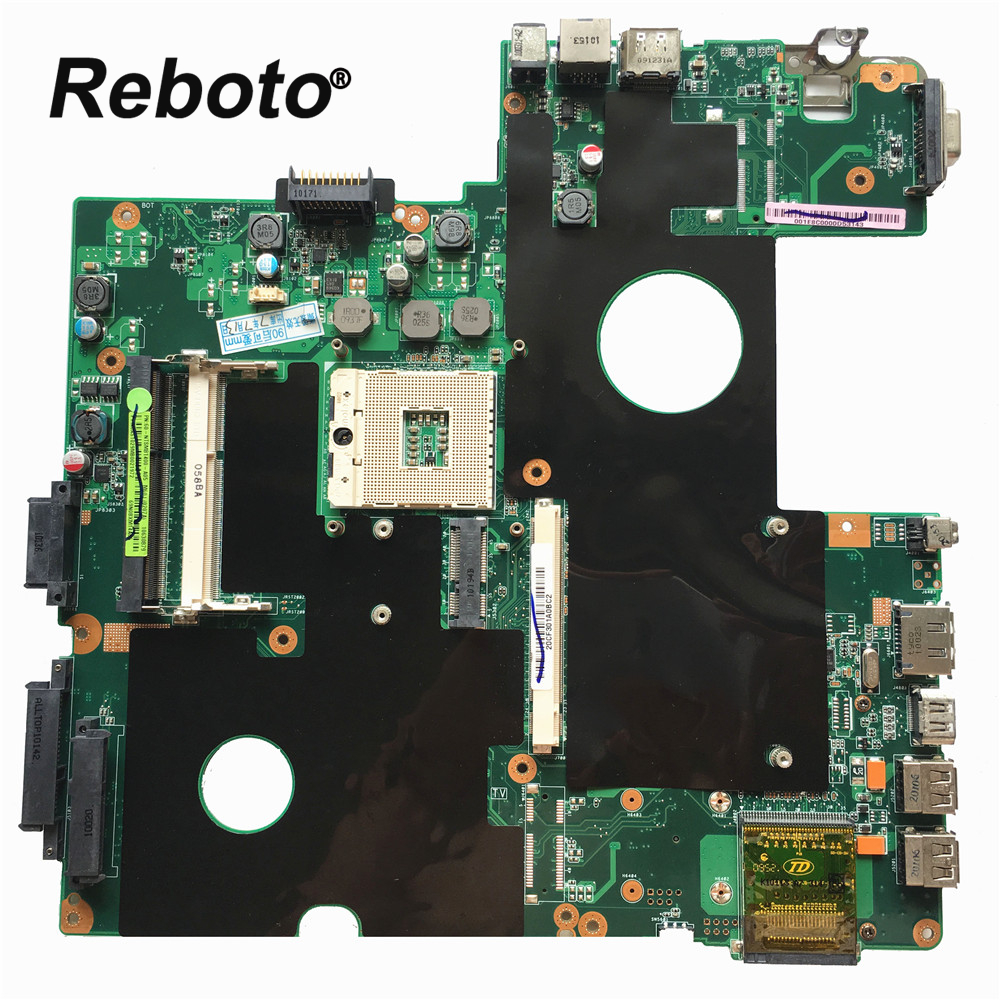 Reboto FOR ASUS M60J Laptop motherboard mainboard 60 NTSMB1400 REV 2 0 100 Tested Fast Ship