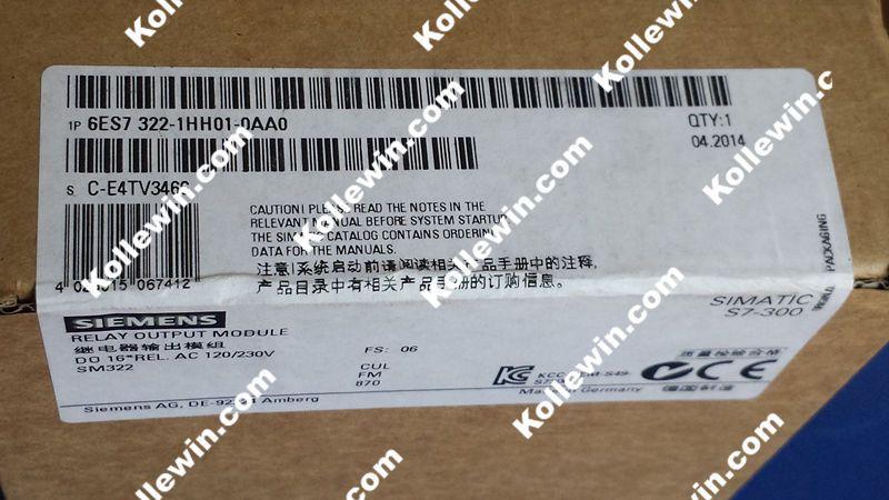 NEW Original 6ES7322-1HH01-0AA0 Digital Output Module, ReLay Contacts,1 X 20 PIN 6ES7 322-1HH01-0AA0, SIMATIC 6ES73221HH010AA0 new original 6es7322 1hh01 0aa0 digital output module relay contacts 1 x 20 pin 6es7 322 1hh01 0aa0 simatic 6es73221hh010aa0