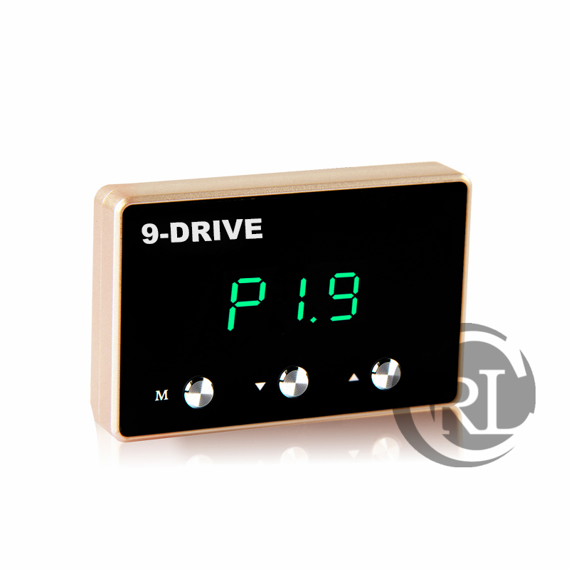 Car Pedal commander Strong Booster 9 mode selective LED screen adjustable Car throttle controller Auto accessories for JAC S2 iron commander экскаватор металл 234 дет 816b 136 г44213