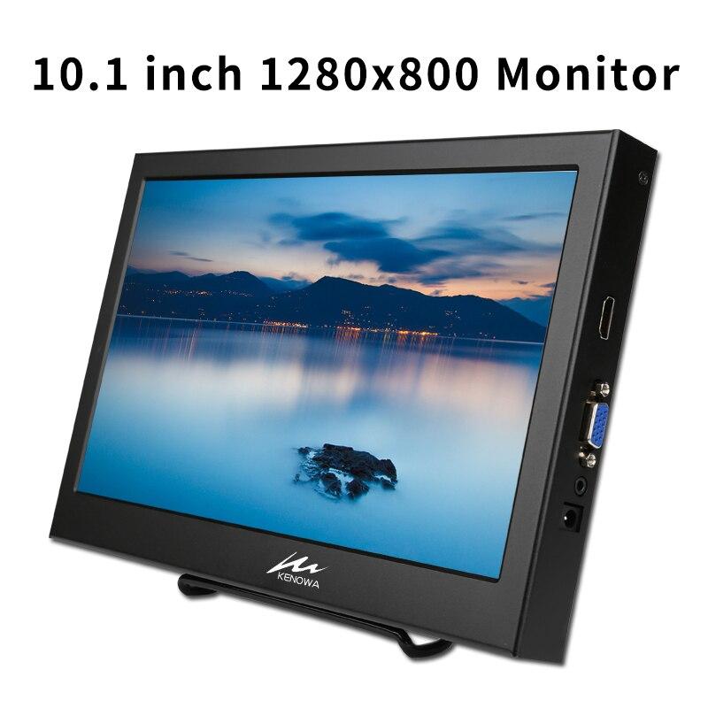 10.1 pouces Portable moniteur 1920*1200 LCD écran moniteur de jeu VGA HDMI Interface avec haut-parleur intégré pour PS3/PS4/XBOx360/PC