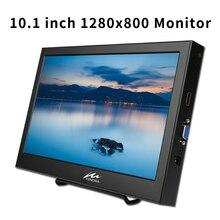 10,1 дюймов портативный монитор 1920*1200 ЖК-дисплей Экран игровой монитор VGA HDMI Интерфейс со встроенным Динамик для PS3/PS4/XBOx360/ПК