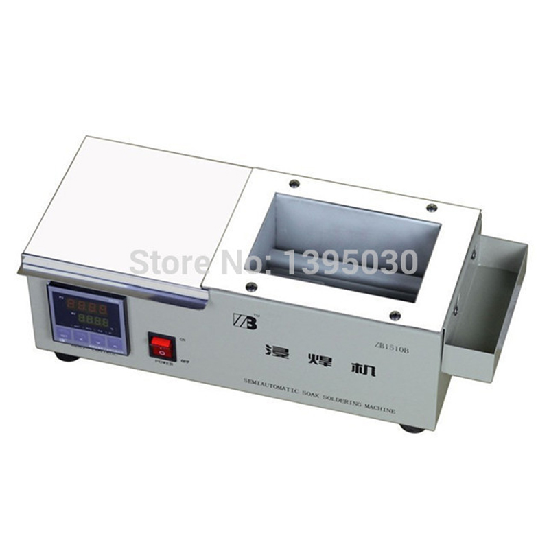 220V Solder Pot ZB1510B Digital Display 600W Soak Soldering Machine Soldering Tin Stove мойка кухонная franke ronda rog 611 ваниль 114 0296 605