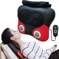 Neck Massager back waist Pillow Electric Shiatsu Cervical Massager Device Household neck hip leg Body kneading Massage Cushion