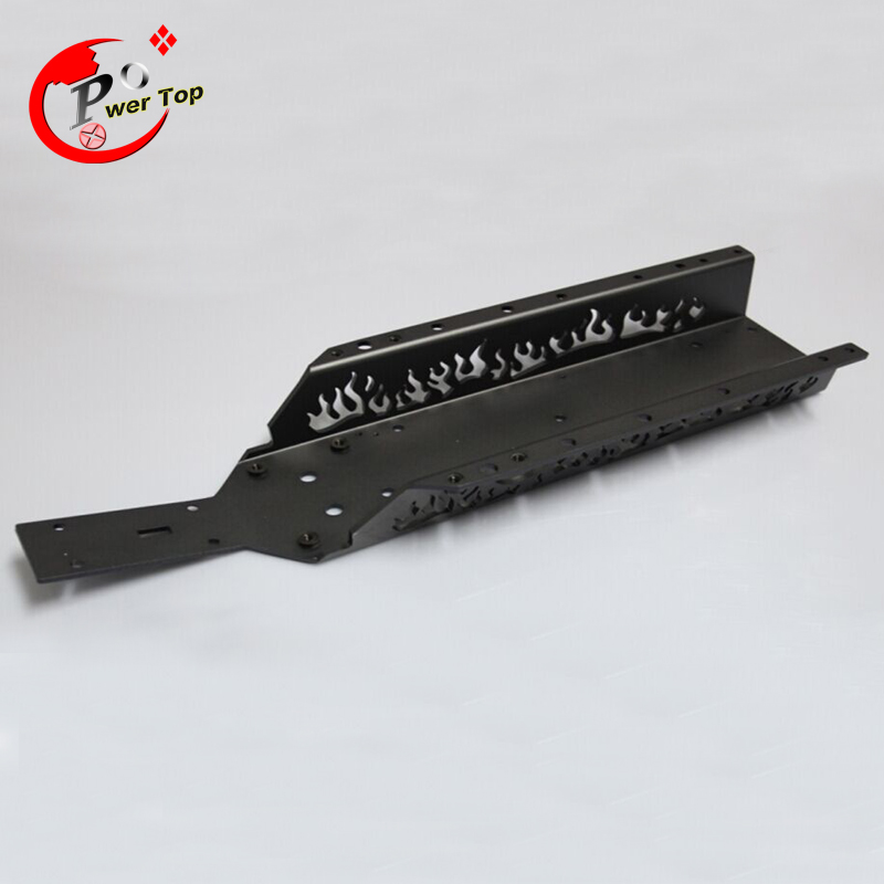 все цены на King Motor Baja New fire main chassis For HPI Baja 5B Parts Rovan Free Shipping онлайн