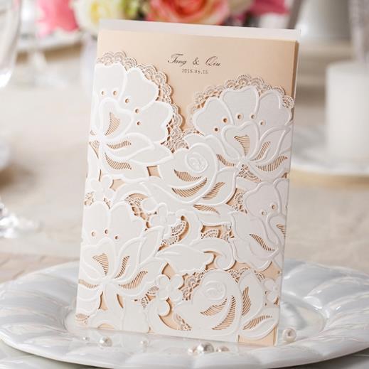 Aliexpress Buy Customizable Pocket Wedding Invitations Cards – Pocket Cards for Invitations