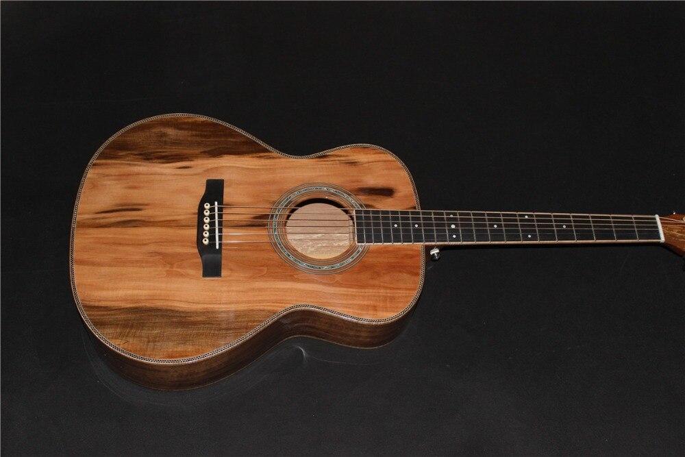 Trasporto libero AAAA tutti i Solidi importati apple in legno OMJM corpo stile chitarra acustica chitarra elettricaTrasporto libero AAAA tutti i Solidi importati apple in legno OMJM corpo stile chitarra acustica chitarra elettrica