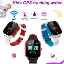 FA23 Smart Baby Watch IP67 Waterproof Children SIM Card Touch Screen GPS WIFI SOS Tracker Kids Alarm Clock Anti-Lost Smartwatch