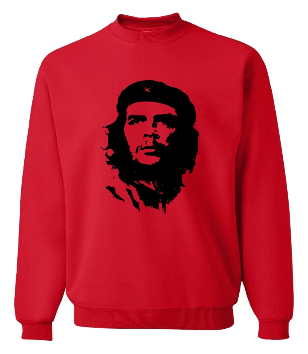 New Arrival Ernesto Guevara Men's Sweatshirt 2019 Autumn Winter Warm Fleece Sweatshirts Men Harajuku Hoodies Hip Hop Streetwear
