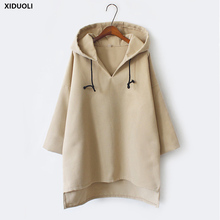 2018 autumn winter new women's shirt Korean version of the loose jacket