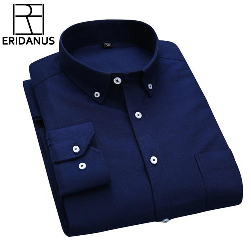 Новий бренд модні сорочки з довгим - Чоловічий одяг - фото 1