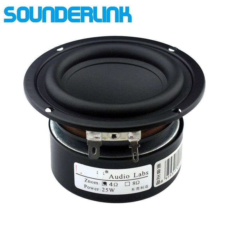 2 PCS LOT Sounderlink Audio Labs 3 25W subwoofer woofer bass speaker driver 3 inch 30W Full range