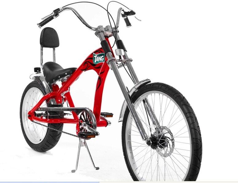 Orijinal X-Ön Marka Snowmobile 4.0 Fat Tire MTB Harley səyahət - Velosiped sürün - Fotoqrafiya 3