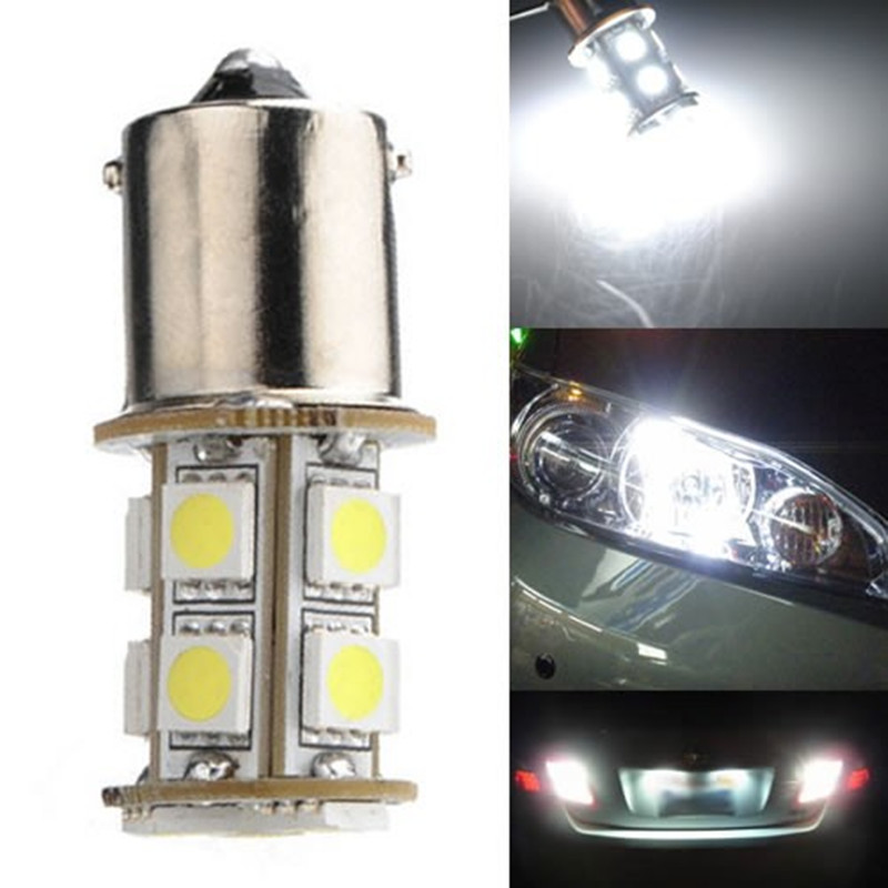 HNGCHOIGE 1156 BA15S P21W 13-LED 5050 SMD Car Tail Brake Signal Light Lamp Bulb White
