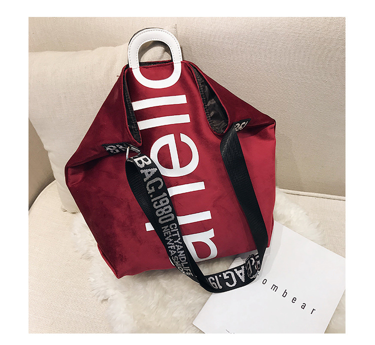 HTB17t4QXs vK1RkSmRyq6xwupXaz - New Large-capacity Velvet Handbag Fashion Lady Letter Shoulder Crossbody Bag High Quality Women's Shopping Bag Tote