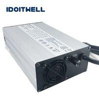 Подгонянное 900 W ток 2 этапа регулируемое зарядное устройство 36 V 18A 12A ручной регулируемый ток Быстрый 36 V аккумулятор зарядное устройство