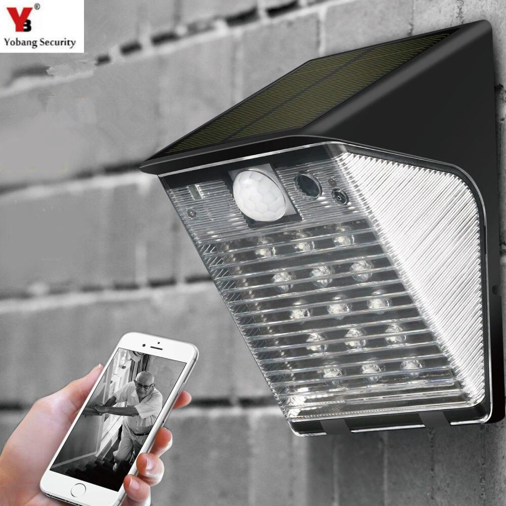 1080P Solar Power WIFI IP Camera Wireless 2MP Support 32GB TF  Slot CCTV Camera energy saving Waterproof Outdoor Security Camera