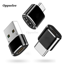 OTG Adapter Type C Male to USB Female Data 2 in 1 Charge & Sync Micro To Type-C Converter For Macbook