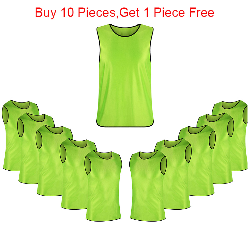 Volwassen mouwloos voetbalshirts Voetbal Vest Training afdrukken - Sportkleding en accessoires