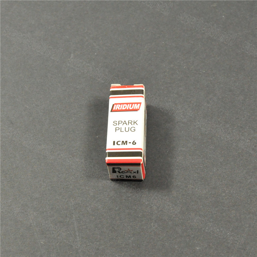 1pcs Rcexl CM6 ICM6 10mm Iridium Spark Plug untuk DA DLE Gas Engine