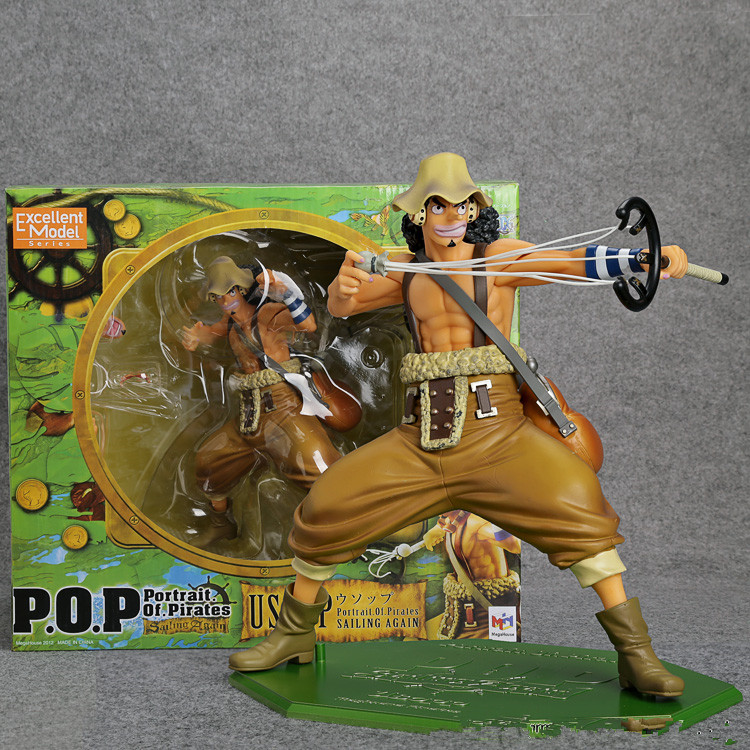 Anime One Piece POP Usopp PVC Action Figure Collectible Model Toy 20cm OPFG028