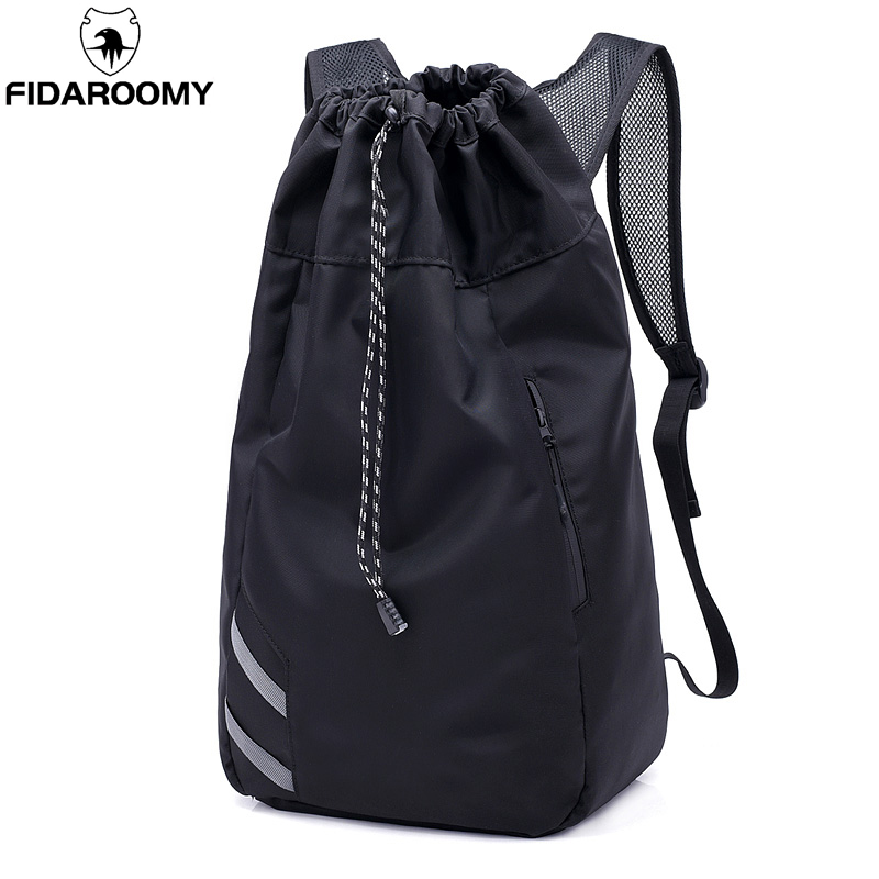 Compra drawstring bag mens backpacks gym y disfruta del envío gratuito en  AliExpress.com c69ef9192cb27
