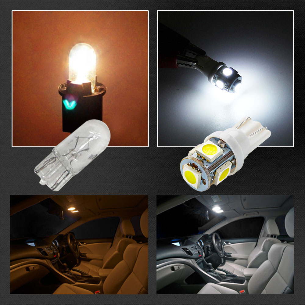 Image 4 - Led Car DC 12v Lampada Light T10 5050 Super White 194 168 w5w T10 Led Parking Bulb Auto Wedge Clearance Lamp-in Signal Lamp from Automobiles & Motorcycles