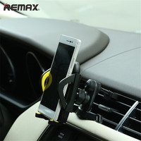 Remax Car Air Vent Mount Mobile Phone Holder 360 grados de Rotación Estable Soporte Manos Libres Conducción Segura Vertical Paralelo Móvil