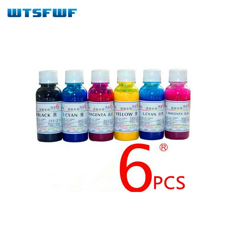 Wtsfwf 600ml 6C Universal Dye Sublimation Ink for cotton fabric heat press sublimation heat transfer ink For Epson printer