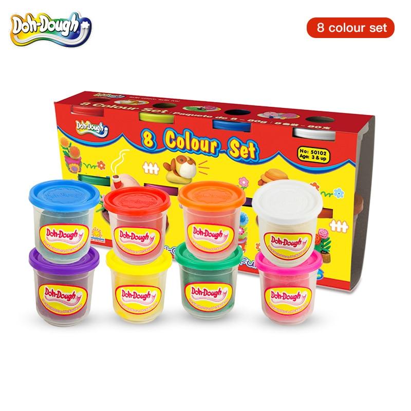 Kreative Handarbeit Bunte Plastilin, Kinder Sicher und Ungiftig 3D Modellierung Ton Spielzeug Set, plastilin Schleim Form Werkzeug Set