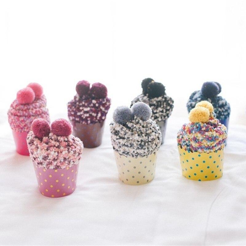 PEONFLY funny hosiery women Coral Down Live Own Family Floor   Socks   Keep Warm Cake Gift Box Woman   Socks   Japanese Autumn