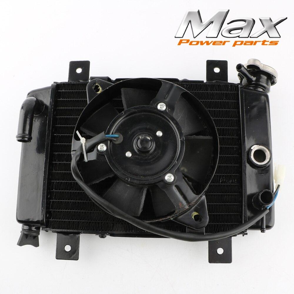 Marca nueva 150cc 200cc 250cc agua de refrigeracion del radiador refrigerador y ventilador para Quad 4 x 4 ATV laura esquivel como agua para chocolate