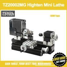TZ20002MG 60 Вт металлический токарный мини-станок/60 Вт, 12000 об/мин Большой мощный металлический токарный станок